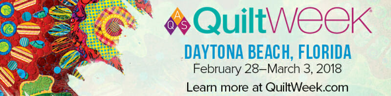 AQS QuiltWEEK - Daytona Beach, FL (Feb 28 - March 3) @ Ocean Center | Daytona Beach | Florida | United States