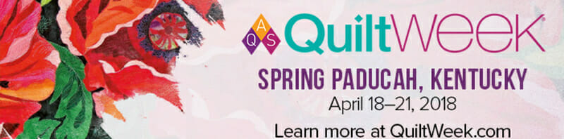 AQS QuiltWEEK - Paducah, KY (April 18 - 21) @ Schroeder Expo Center | Paducah | Kentucky | United States