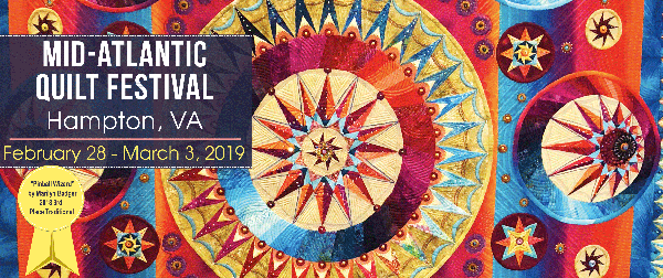 Mid-Atlantic Quilt Festival - Hampton, VA (Feb 26 - March 1) @ Hampton Roads Convention Center | Hampton | Virginia | United States