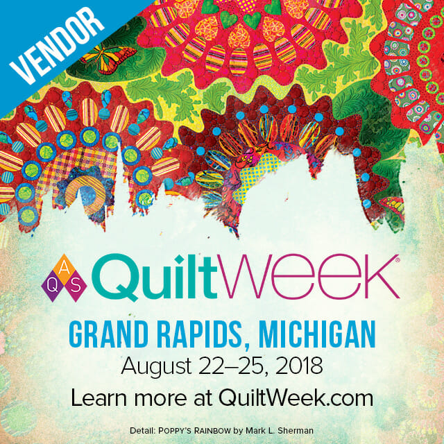 AQS QuiltWEEK - Grand Rapids, MI (August 22 - 25) @ DeVos Place and DeVos Performance Hall | Grand Rapids | Michigan | United States