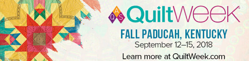 AQS QuiltWEEK - Paducah, KY (September 12 - 15) @ Paducah Convention Center | Paducah | Kentucky | United States