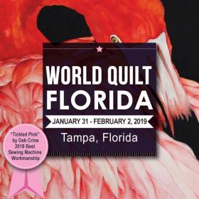 World Quilt Florida - Tampa, FL (Jan 31 - Feb 2) @ Tampa Convention Center | Tampa | Florida | United States