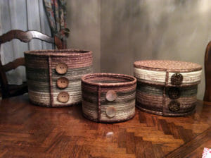 "An entire set of Camden Bowls! ""Love the Camden Bowls. Would never make them without the Duet Fuse II"" Thank you Trish G!!"